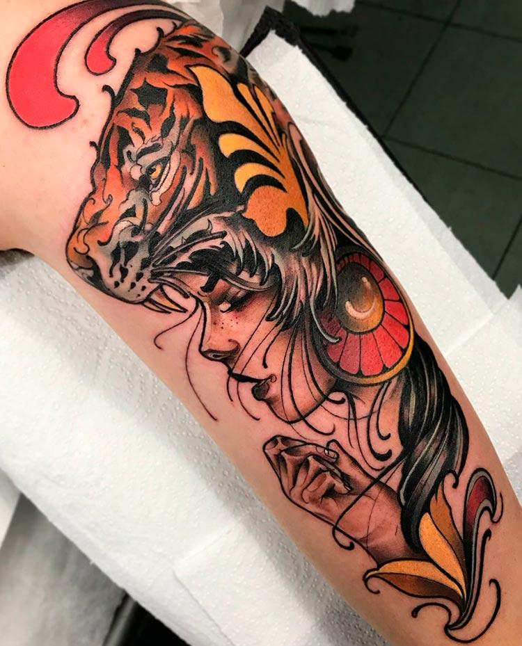 New York Fede Almanzor 10 Thousand Foxes Tattoo